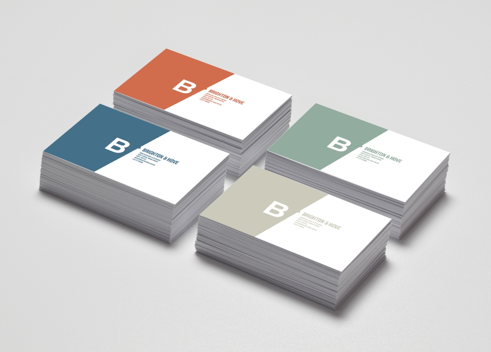 Colorful Business Card MockUp1