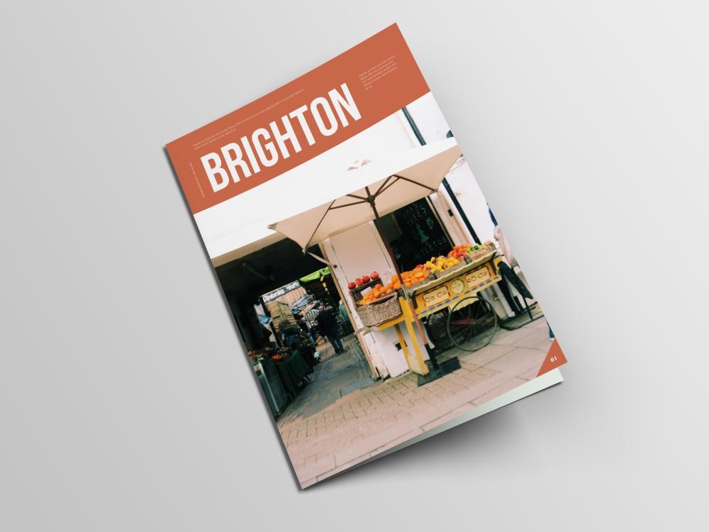 Copy of Bifold Brochure Mockup - Free 2
